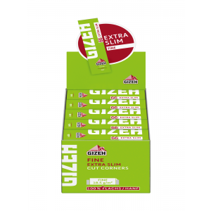 Gizeh Fine Extra Slim Papers grün, 50er Box