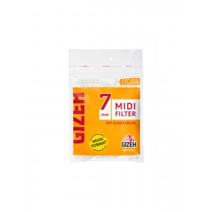 GIZEH Midi Filter 7 x 15 mm, 100er Packung
