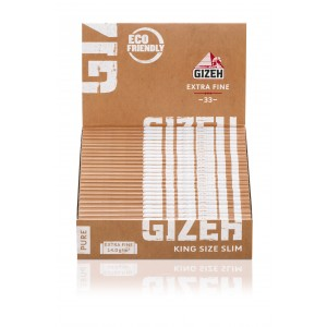 Gizeh Pure Extra Fine Papers King Size Slim, 25er Box