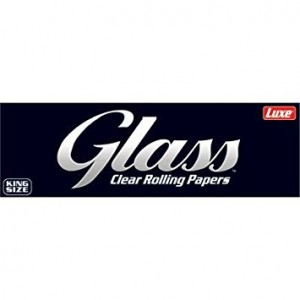Glass King Size Clear Rolling, Heftchen einzeln
