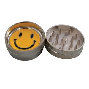 BUDDIES Mini Metal Grinder Ø 40 mm, Smiley