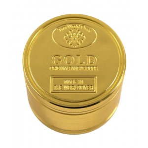 Siebgrinder Aluminium Ø 50 mm, 4-teilig Gold