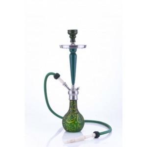 Aladin Origins Shisha Karatschi 1-Schlauch 67 cm grün-gelb
