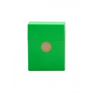 Zigaretten Click Box groß Neongrün