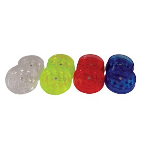BUDDIES Plastik Grinder Ø 42 mm, rot