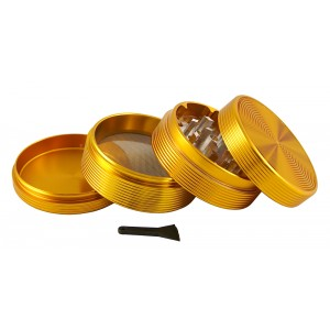 Ripple Siebgrinder Ø 63 mm, gold