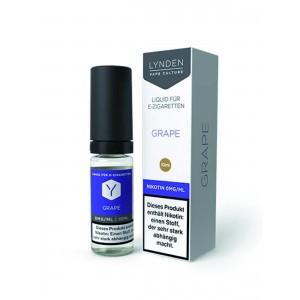 LYNDEN E-Liquid Grape 10 ml (0 mg Nikotin)