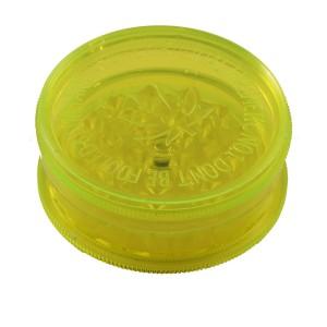 BUDDIES Plastik Grinder Ø 60 mm, gelb