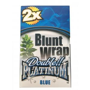 Blunt Wrap Double Platinum Blue 25 x 2 Box