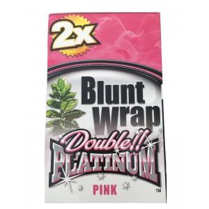 Blunt Wrap Double Platinum Pink 25 x 2 Box