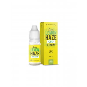 Harmony CBD Liquid - Super Lemon Haze 10 ml