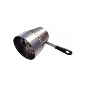 Heatreactor Kaminwindschutz und Kohlesieb (Aladin)