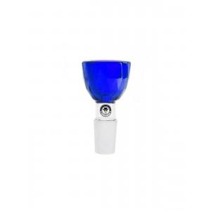 Heisenberg Bongkopf Diamond Bowl blau 18.8