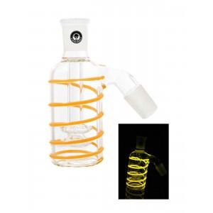 Heisenberg Vorkühler Double Circ Glow 18.8 gelb