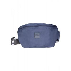 Urban Classics Hip Bag Striped Belt navy