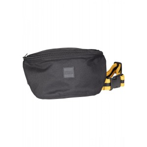 Urban Classics Hip Bag Striped Belt schwarz