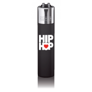 CLIPPER Feuerzeug Music Heart - HipHop