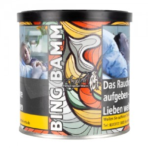 Argileh Bing Bamm Shisha Tabak 200g Packung