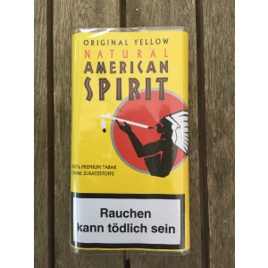 NATURAL AMERICAN SPIRIT 30 g ORIGINAL YELLOW Drehtabak