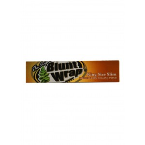 BLUNT WRAP King Size Slim Medium, Heftchen einzeln