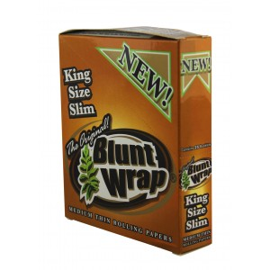 BLUNT WRAP King Size Slim Medium Thin, 25er Box