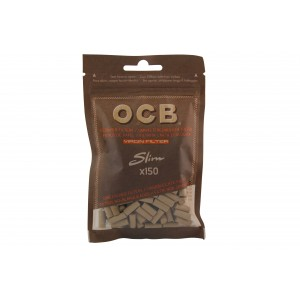 OCB Virgin Filter unbleached Slim 6 mm, 150er Beutel
