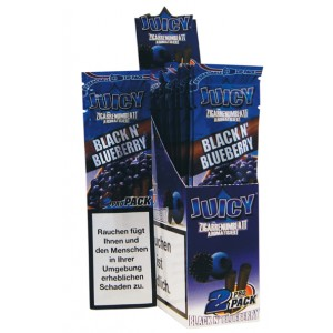 Juicy Jays Blunts Black N´ Blueberry, 25 x 2 Box