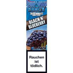 Juicy Jays Blunts Black N´ Blueberry, 2er Pack