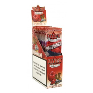 Juicy Jays Blunts Raspberry, 25 x 2 Box