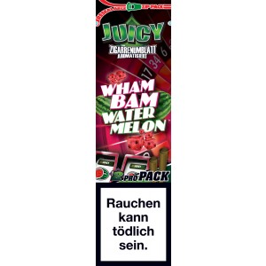 Juicy Jays Blunts Wham Bam Watermelon, 2er Pack