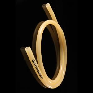 Kaya Silikon Shishaschlauch mit Kaya-Logo 150 cm - Orange