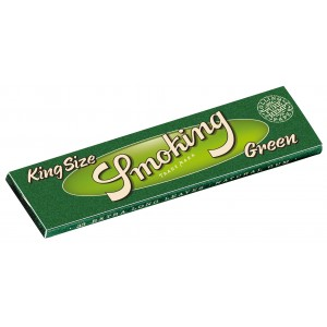 Smoking Green King Size Papers, Heftchen einzeln
