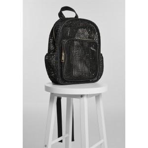 URBAN CLASSICS Lady Backpack Mesh Transparent