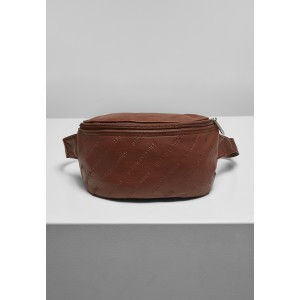 Urban Classics Leather Imitation Hip Bag braun