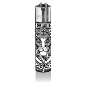 CLIPPER Feuerzeug Tattoo Animals (Lion)