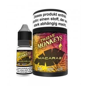 12Monkeys E-Liquid MACARAZ 3 x 10 ml