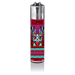 CLIPPER Feuerzeug Magic World  - Animal