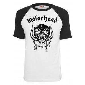 Merchcode Motörhead Everything Louder Raglan Tee schwarz/weiss