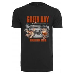 Merchcode Green Day Radio Tee schwarz