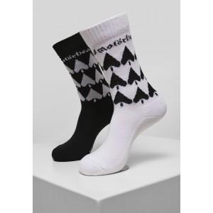 Motörhead Socks 2-Pack schwarz weiß