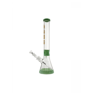 Mighty Beaker 7MM Green Glasbong 18.8