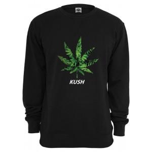 MISTER TEE Kush Crewneck Pullover schwarz