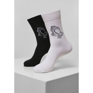 Pray Hands Socks 2-Pack