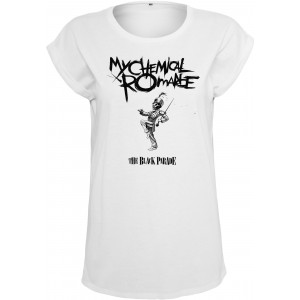 Mister Tee Ladies My Chemical Romance Black Parade Cover Tee weiss