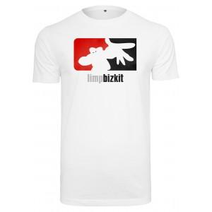 Mister Tee Limp Bizkit Big Logo Tee weiss