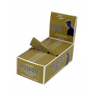 Muskote 60 Papers, 50er Box
