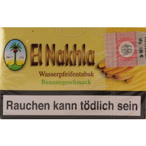 Nakhla Tobacco 50 g Shishatabak Banane