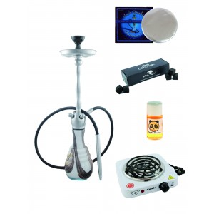 Shisha Narikela-Set Mixed White