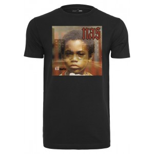 MISTER TEE NAS Illmatic (schwarz) T-Shirt