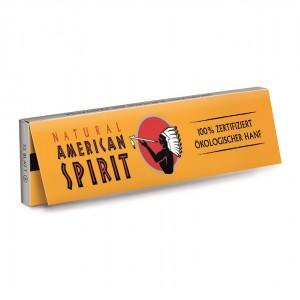 NATURAL AMERICAN SPIRIT Hanf King Size Slim Longpapers, Heftchen einzeln